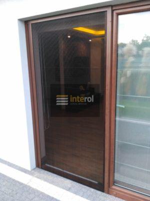 Moskitiera drzwiowa plisowana